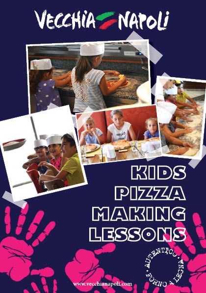 Pizza making lessons - kids